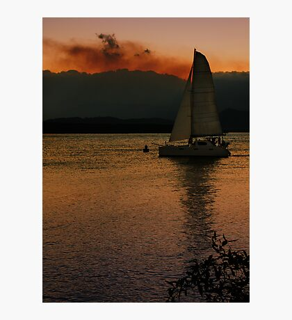 Sailing in Port Douglas Photographic Print
