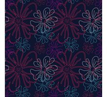 Floral pattern. Photographic Print