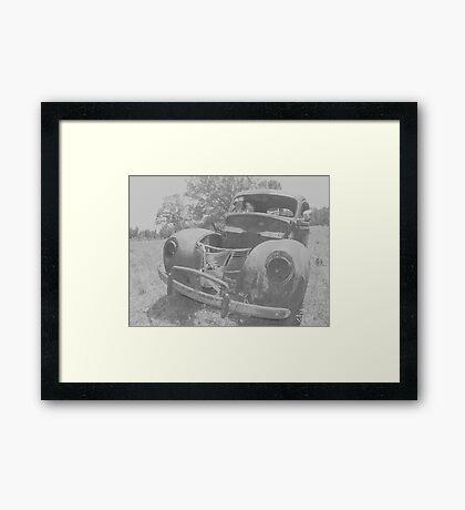 38 DODGE Framed Print