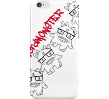 #nerdmonster iPhone Case/Skin