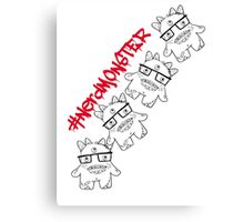 #nerdmonster Canvas Print