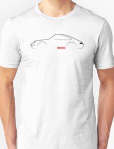 Porsche 911 (993) brushstroke design T-Shirt