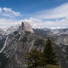 Yosemite and Half dome by RoySorenson