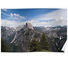 Yosemite and Half dome Poster