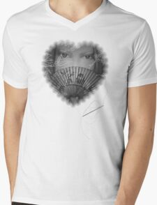 The Fan Silked Bodywear Mens V-Neck T-Shirt