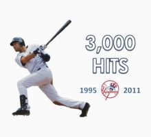 Derek Jeter 3,000 Hits by Ryan Fritch