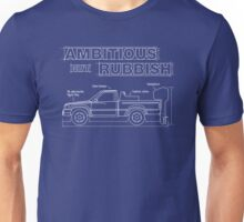 Ambitious but Rubbish Toybota blueprints Unisex T-Shirt