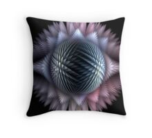 Puff 2-Ice Crystals Throw Pillow