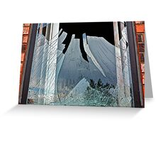 Waves of Glass Greeting Card