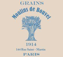 French Vintage Grain Sack  by Zehda