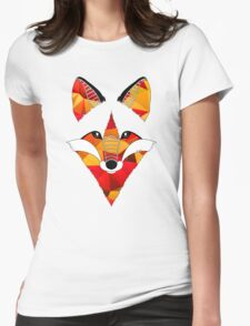 Fire Fox Womens Fitted T-Shirt