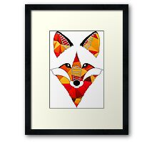Fire Fox Framed Print
