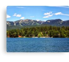 Two Resorts Canvas Print