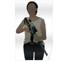 Sasha - The Walking Dead Poster
