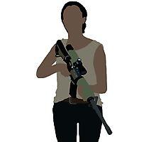 Sasha - The Walking Dead Photographic Print