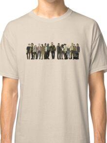 The Walking Dead Cast Classic T-Shirt