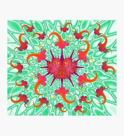 Sindbis and Anti-Virus Photographic Print
