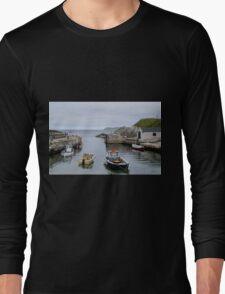 Ballintoy Harbour Long Sleeve T-Shirt