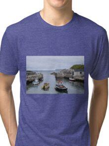 Ballintoy Harbour Tri-blend T-Shirt