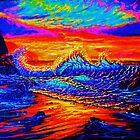 Glass Wave Sunset by jyruff