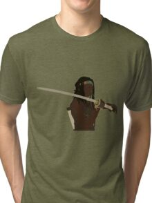 Michonne - The Walking Dead Tri-blend T-Shirt