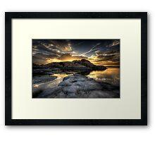 Rockclipse Framed Print