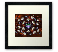 Babanki Bug with Anti-Virus Framed Print