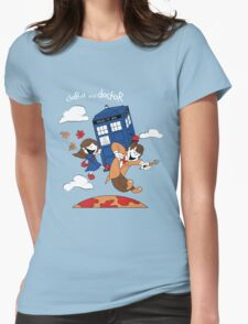 Clara and Doctor Womens Fitted T-Shirt