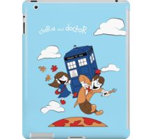 Clara and Doctor iPad Case/Skin