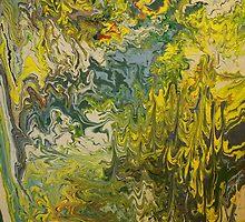 """Undulation"" - 36 x 48 - 2011 by Eric Leppanen"