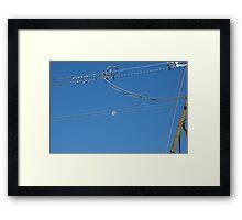 """Power Moon"" Framed Print"