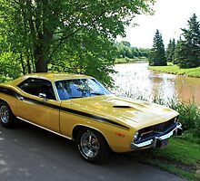 Plymouth Barracuda by HALIFAXPHOTO