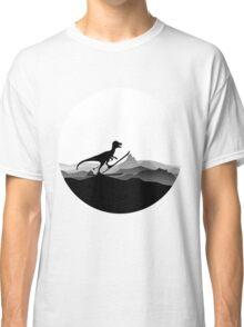 DINO ON SKI - Skiing Dinosaur - Dino Collection Classic T-Shirt