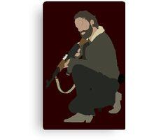Rick Grimes - The Walking Dead Canvas Print