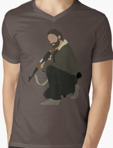 Rick Grimes - The Walking Dead Mens V-Neck T-Shirt