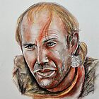 Kevin Costner, featured in Deez 5Cs by Françoise  Dugourd-Caput