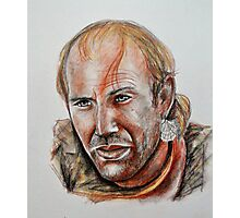 Kevin Costner, featured in Deez 5Cs Photographic Print
