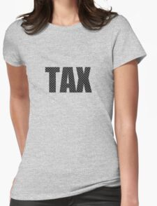 Carbon tax Womens Fitted T-Shirt