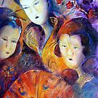 Geisha Girls by Ivana Pinaffo