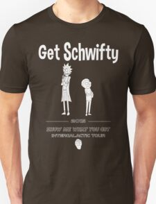 Get Schwifty 2015 Intergalactic Tour (white) Unisex T-Shirt