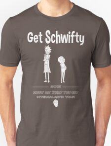 Get Schwifty 2015 Intergalactic Tour (white) Unisex T-Shirt