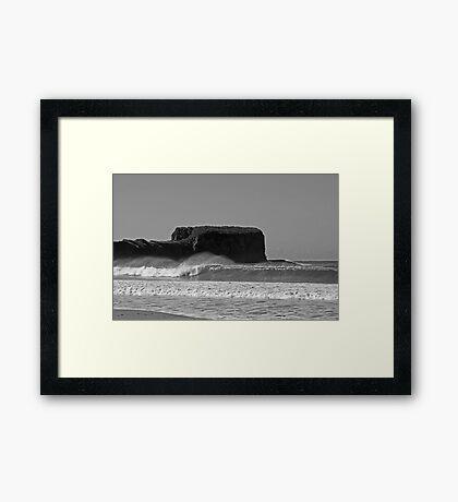 Bombo Headland Framed Print