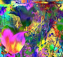 Lovely Colours Tulips. by Vitta