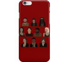 The Walking Dead Cast - Minimalist style iPhone Case/Skin