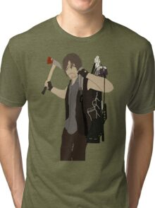 Daryl Dixon - The Walking Dead Tri-blend T-Shirt