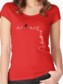 I've Climbed Alpe d'Huez 2011 Women's Fitted Scoop T-Shirt
