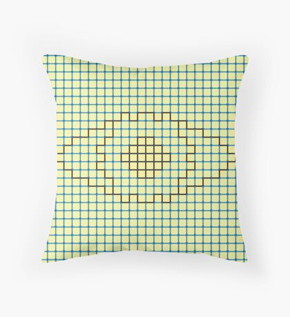 I See You (The Neon Eye) Throw Pillow