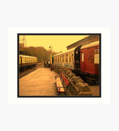 Bitton RailwayStation. Art Print