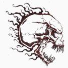 Evil Skull by Fred Seghetti