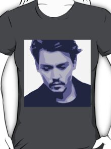 Johnny Depp Pop Art T-Shirt